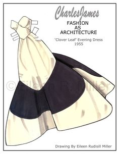 Charles James Fashions Paper Doll