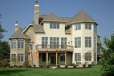 Silvestri Custom Homes - versailles Model Home