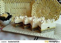 Řezy rakouské císařovny Sisi recept - TopRecepty.cz Patisserie Design, Cake Recipes, Dessert Recipes, Cake Bars, Cakes And More, Vanilla Cake, Delish, Food Porn, Food And Drink