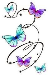 Image is loading 2x-Flower-Butterfly-Vinyl-Car-Graphics-Stickers-Decals Mouse over to zoom - Click to enlarge - Google Search