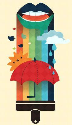 Invierno - Ilustración autor desconocido*