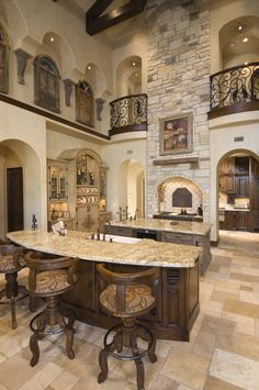 If you are having difficulty making a decision about a home decorating theme, tuscan style is a great home decorating idea. Many homeowners are attracted to the tuscan style because it combines sub… Deco Design, Küchen Design, Interior Design, Rustic Design, Design Ideas, Roof Design, Interior Modern, Modern Exterior, Ceiling Design