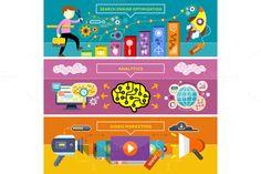 Analytics, SEO Optimization by robuart on Creative Market