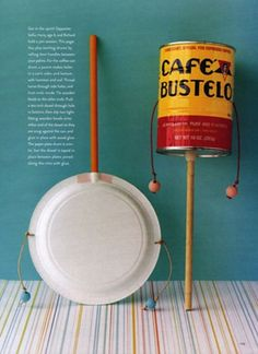 Recycling Bastelideen How to make a musical instrument at home?
