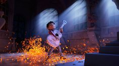 6:45 PM PDT 7/5/2017  by   John Hecht       The Day of the Dead-themed toon features the voice talents of Benjamin Bratt and Gael Garcia Bernal.  Pixar's latest animated picture Coco will aptly make its world premiere in Morelia, a Mexican city famous for its Day of the Dead... #Coco #Fest #Mexicos #Morelia #Pixars #Premiere #World