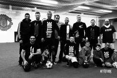 Attiitude football team at practise #myattiitude #alternativefashion #football #teamspirit #teamattiitude — in France.