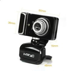 (8.77$) Watch now - HXSJ USB2.0 16MP Pixel 180 Degrees Rotatable HD Webcam Digital Video Clip-on Web Camera with Microphone Mic 3 LED for Skype PC Laptop Desktop TV
