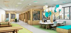 Pop-up office cubicles created from recycled cardboard - could support the  'green' attribute of your personal brand.
