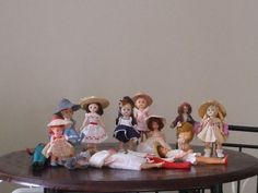 Vintage Doll Lot Ginny Ginger Barbie Cher Tressy Pepper Betsy McCall
