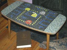 Pac-Man Ported To Handmade Coffee Table