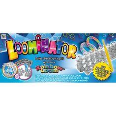 CoolZips Toys - Loominator Kit - by Rainbow Loom, $11.99 (http://www.coolzips.com/new-loominator-kit-by-rainbow-loom/)