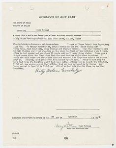 [Affidavit by Billy Nolan Lovelady #2]