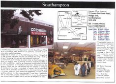 "Southampton [opened 1994] - the ""'Superstore' near the South Coast"""