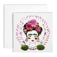 Flora Forager for NYBG Frida Kahlo Card