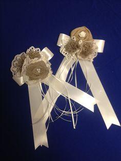 Hair bows for flower girls