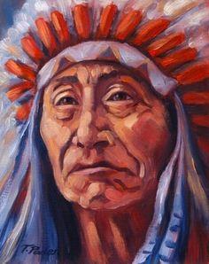 native american paintings and art | ... Artwork: Southwest Native American Painting by Theresa Paden
