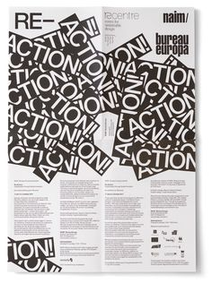 Experimental Jetset - NAiM Bureau Europe, Reaction Exhibition