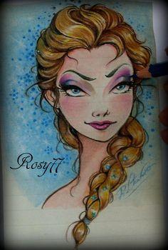 Disney-Frozen-Queen  Elsa-The Snow
