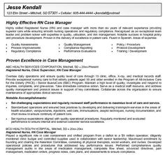 RN Case Manager Resume - http://getresumetemplate.info/3464/rn-case-manager-resume/