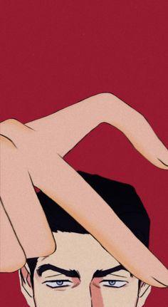 by: @FongKsa on Twitter Cute Anime Wallpaper, Love Wallpaper, Sailor Moon Funny, Matching Wallpaper, Attack On Titan Levi, Anime Profile, Backrounds, Shounen Ai, Animes Wallpapers
