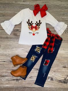 Little Girl Outfits, Toddler Outfits, Kids Outfits, Cute Outfits, Little Girl Clothing, Girls Christmas Outfits, Holiday Outfits, Kids Christmas Clothes, Holiday Fashion
