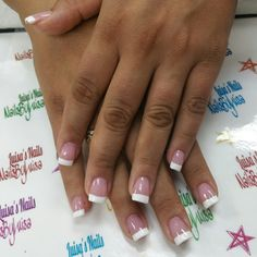 French manicure acrylic