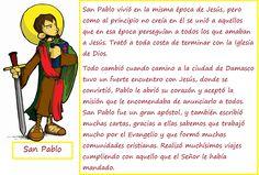 Foto: Sábado 25 de Enero - Fiesta de la Conversión de San Pablo, apóstol