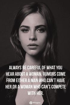 Looking for inspirational and motivational quote? Tap the link now to read these inspirational quotes for women and empowering women quotes. Look around and you'll find a lot of strong, ambitious, and successful women. These strong women lift others up. Empowering Women Quotes, Inspirational Quotes For Women, Strong Women Quotes, Best Motivational Quotes, Great Quotes, Positive Quotes, Single Women Quotes, Real Women Quotes, Respect Women Quotes