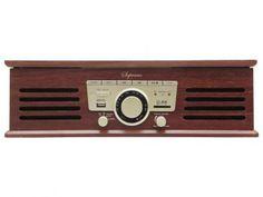 Vitrola CTX Soprano com Entrada USB - Rádio FM Vinil SD Card USB com as melhores condições você encontra no Magazine Sualojaverde. Confira!