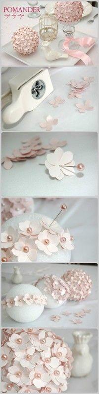 Flower pomanders
