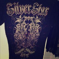 Silver star tee Never worn Silver star Tops Tees - Short Sleeve