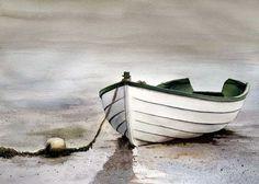 Art of Mary Gibbs Abstract Ocean Painting, Sailboat Painting, Sailboat Drawing, Watercolor Landscape, Landscape Paintings, Watercolor Paintings, Ship Paintings, Watercolours, Boat Art