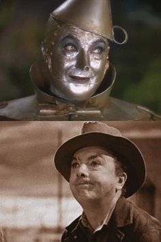 Jack Haley in Wizard of Oz Wizard Of Oz Characters, Wizard Of Oz Movie, Wizard Of Oz 1939, Judy Garland, Vintage Hollywood, Classic Hollywood, Hollywood Icons, Wizard Of Oz Pictures, Wizard Of Oz Quotes