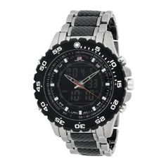 #2: U.S. Polo Assn. Men's US8170 Analog-Digital Black Dial Gun Metal Bracelet Watch