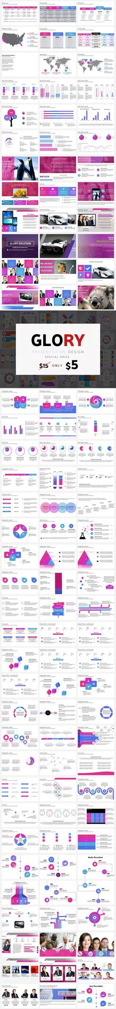 GLORY - POWERPOINT TEMPLATES Make your design of presentation with our best template. Any features can be make your simple and good project presentation. Project Presentation, Corporate Presentation, Presentation Design, Presentation Templates, Icon Files, Ppt Design, Best Templates, Vector Icons, Fun Projects