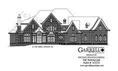 Trafalgar House Plan 01073, Front Elevation, Traditional Style House Plans, Estate Size House Plans