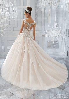 Blu Wedding Dresses 5573-4-1 from MoriLee | Deer Pearl Flowers