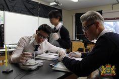Science class.