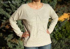 Sudadera anchota – Boxy sweatshirt