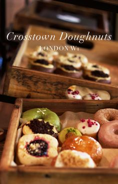 Crosstown Doughnuts, Piccadilly Station.