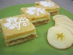 Slávnostné jablkové zákusky: Trinásť chutných receptov, ktoré si obľúbite Pancakes, Deserts, Dessert Recipes, Cooking Recipes, Treats, Cheese, Cookies, Breakfast, Sweet