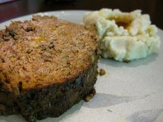 Egg-Free Nightshade-Free Meatloaf from @Sarah Chintomby Ballantyne