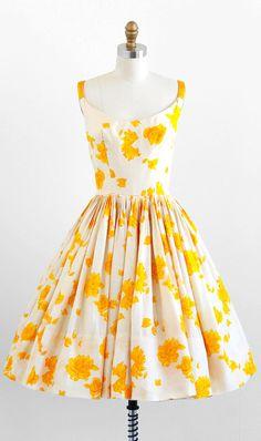 robe vintage des années 50 / 50 s habiller / par RococoVintage
