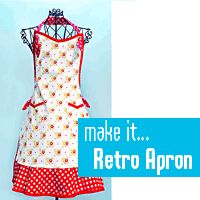 Since the apron I want always has holes in it at Bed Bath and Beyond