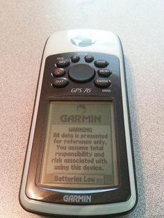 GARMIN GPSMAP 76 VERSITILE NAVIGATOR GPS RECEIVER