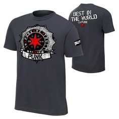 *Authentic WWE Wear - The Official Shirt of the WWE Superstars*Classic Fit*100% cotton*Screen printed in the USA