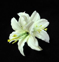Ivory Lily Flower Hair Clip * You can get additional details at the image link.(This is an Amazon affiliate link and I receive a commission for the sales)