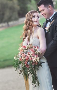 Wedding bouquet by florist Sally Meadows featured in the 'Flowers To Carry' category. Click through to see all the entries in our 2016 RockStar Florists Competition!