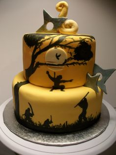 ninja cake - very cool, finally