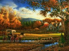 levkonoe: Terry Redlin. Wednesday afternoon